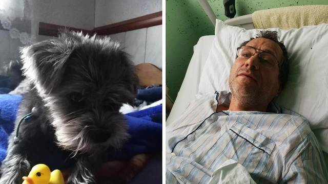 'Udario me vlak kod Bjelovara, nisam uspio spasiti svoga psa'
