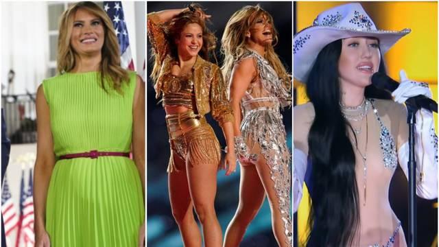 Ovo su najtraženije kreacije: Golišava Cyrus, 'vrući' nastup J.Lo, ali i atraktivna Melania