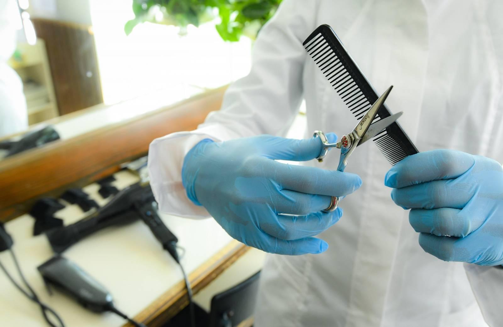 Rad u frizerskom salonu u doba pandemije koranavirusa