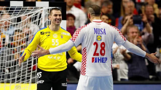 IHF Handball World Championship - Germany & Denmark 2019 - Main Round Group 1 - France v Croatia