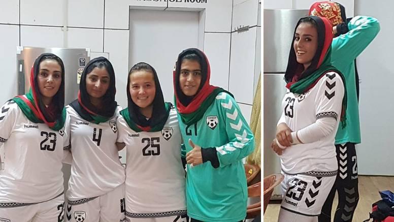 Uplakane nogometašice: Brišite profile, mičite sve fotografije i bježite da vas talibani ne nađu