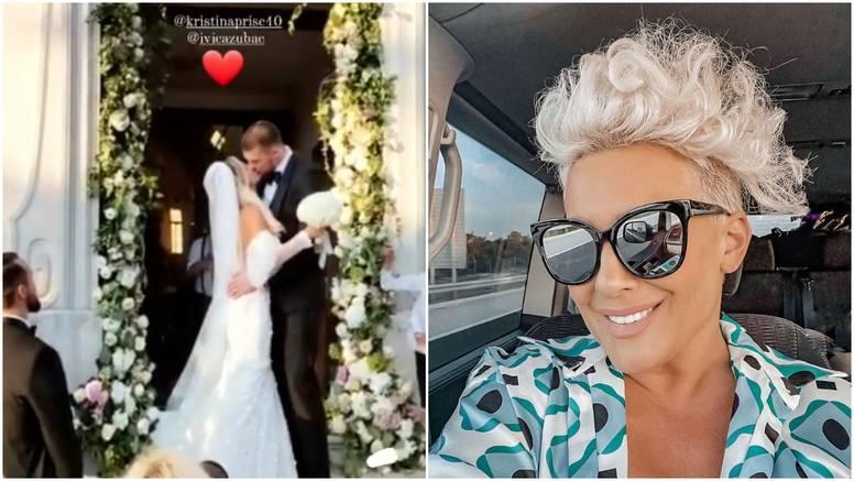 Indira se javila s vjenčanja Ivice Zupca i Kristine Prišč: 'Divni su'