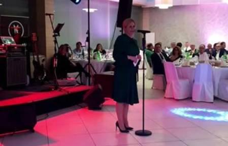 Nije samo zapjevala na večeri: Pogledajte govor predsjednice