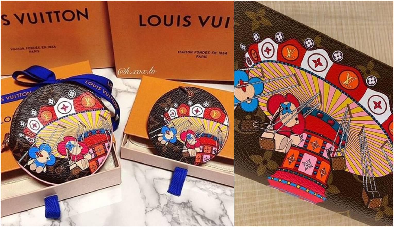 Louis Vuitton predstavlja novu kolekciju božićnih torbica s likom male ikone Vivienne
