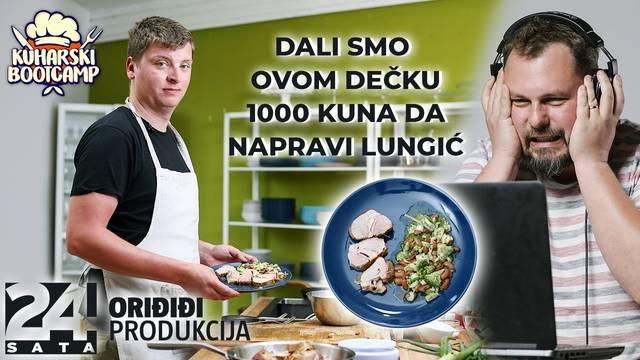 Napravio lungića i dobio 1000 kuna: Do sada sam znao jedino pripremiti tvrdo kuhano jaje...