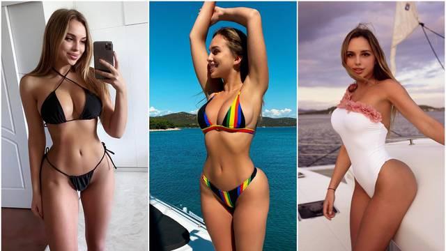 Poljska influencerica podijelila je fotke s Jadrana sa svojih 2,9 milijuna pratitelja: 'Posebno je'