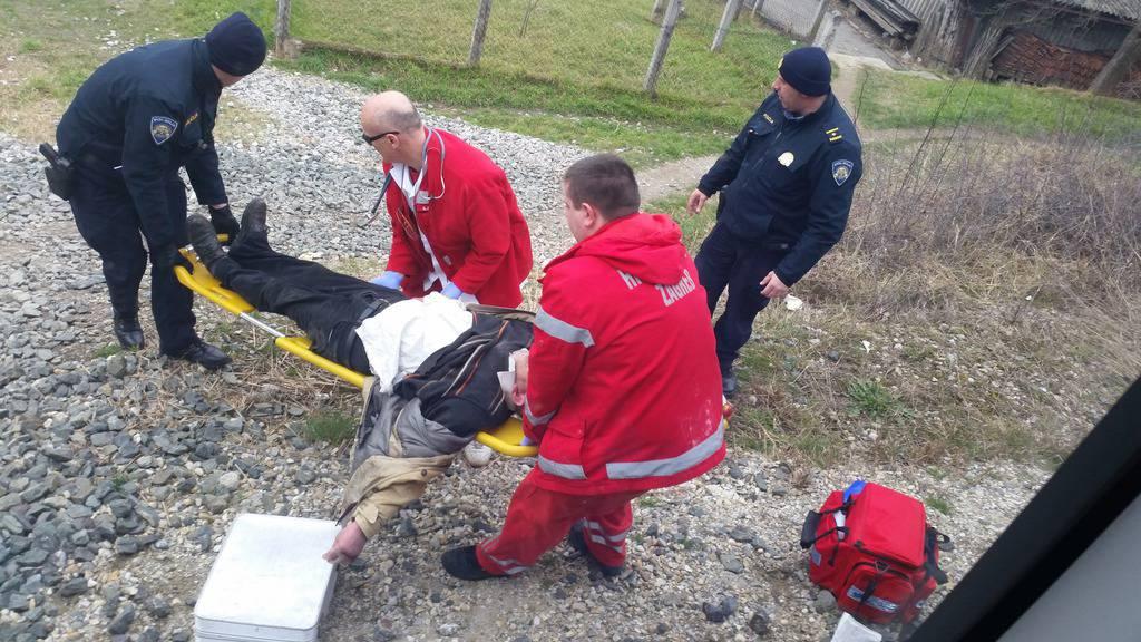 Pregazio ga vlak, ali imao je sreće - ozlijedio je samo rame