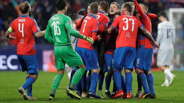 Champions League - Group Stage - Group G - Viktoria Plzen v AS Roma