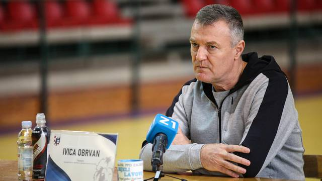Zagreb: Konferencija za medije PPD-a Zagreb uoči utakmice Lige prvaka protiv Veszprema