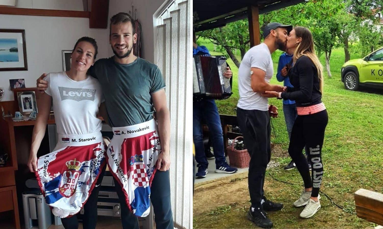 Preko kajaka do oltara: Antun zaprosio Milicu, rekla je 'da'...