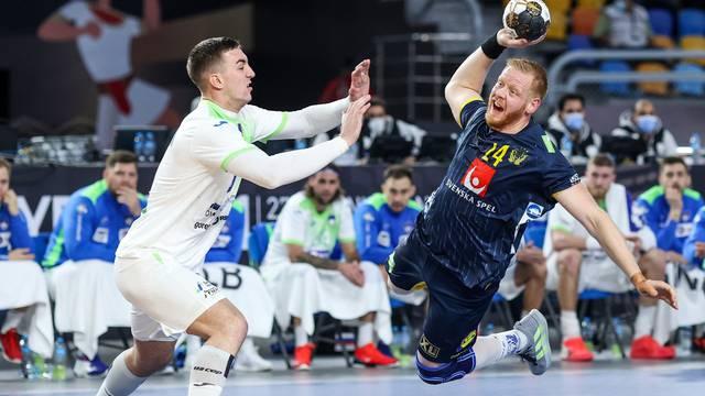Kairo: Svjetsko prvenstvo u rukometu, Slovenija - Švedska