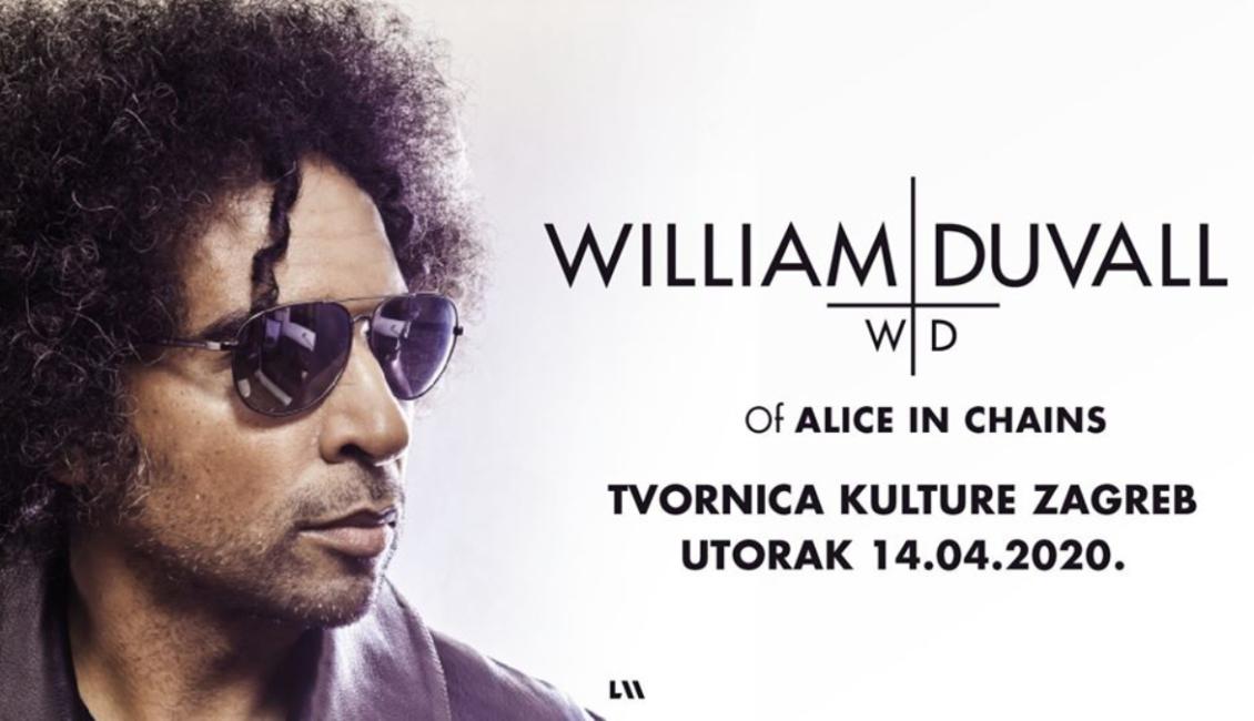 William DuVall odgađa cijelu turneju za jesen 2020.