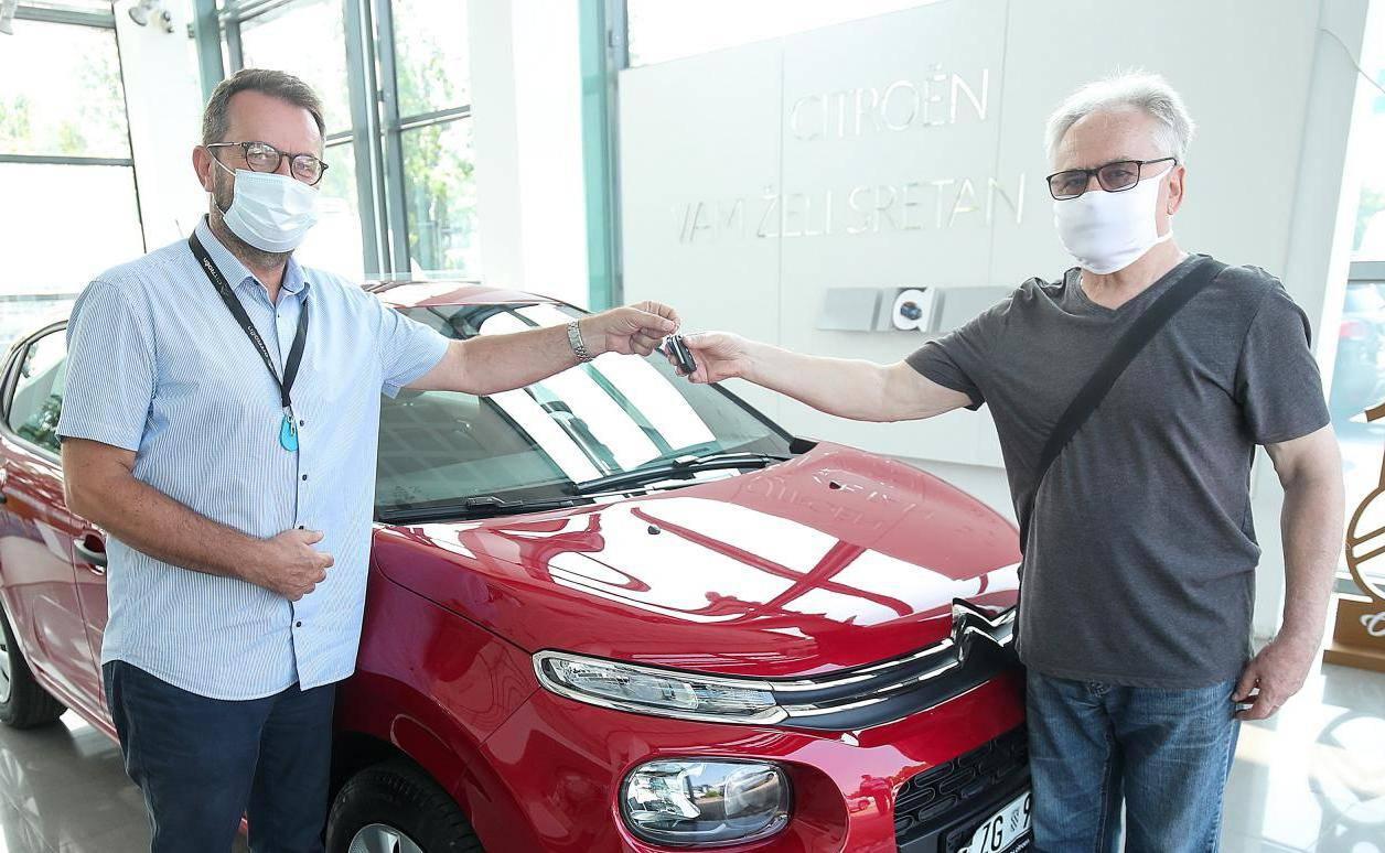 Mirko: 'Citroën C3 je savršena nagrada, baš mi je dobro došla'