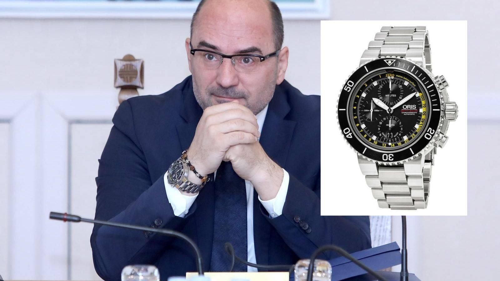 Brkićev novi sat od 35.000 kn: 'Dobio sam ga od svoje obitelji'