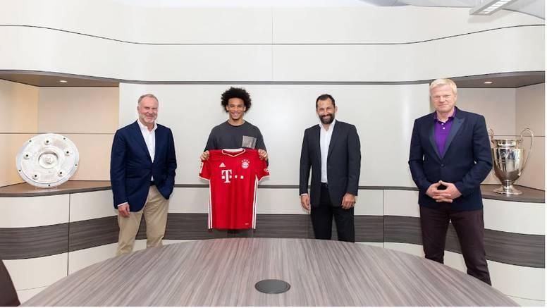 Bayern nakon gafa predstavio Sanea: 'Sada smo na najvišem nivou fleksibilni  na krilima...'