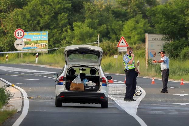 Dvije osobe na motociklu poginule na dionici ceste Rovinj-Kanfanar