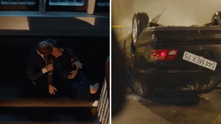 Bizarne scene iz filma potresle Britaniju: Meghan u prometnoj koja podsjeća na smrt Lady Di