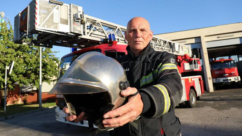 Najstariji vatrogasac Zagreba: 'Kada sam na terenu, dužnost mi je spasiti sva živa bića'