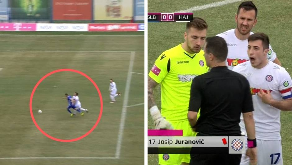 Penal i crveni za Juranovića: Je li Jović pogriješio u odluci?