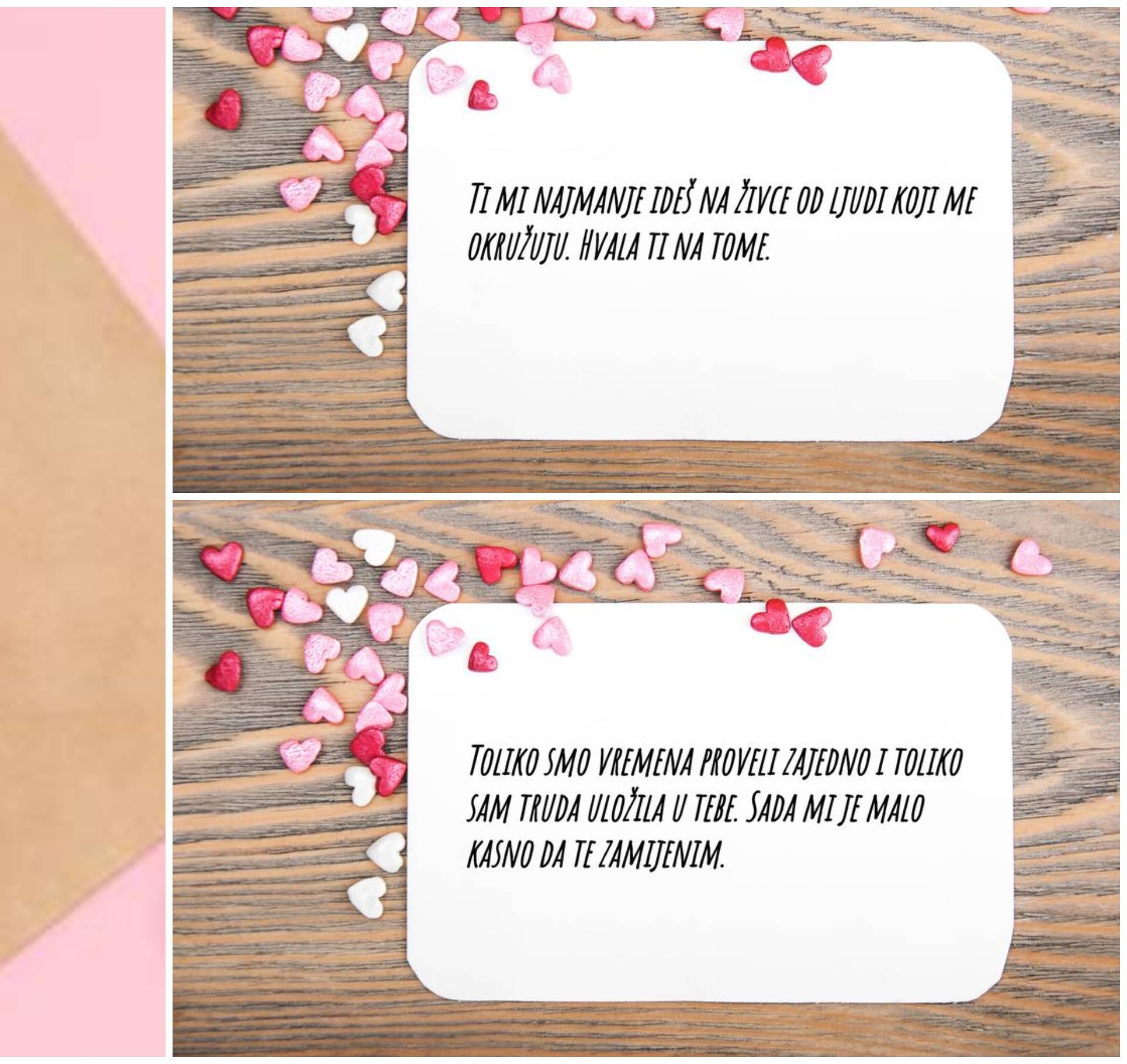 Drukčije Valentinovo: Nema te koju bih radije živcirao od tebe