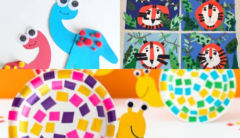 Zabavite se sa mališanima: Od kolaža napravite vesele likove!