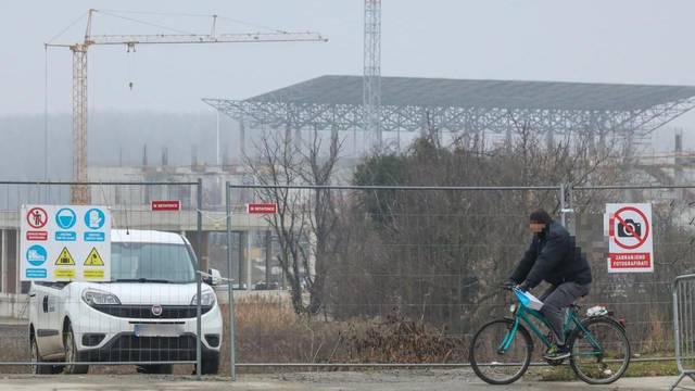 Zapeli radovi na stadionu NK Osijek: Vlasnik parcele blokirao prilaz, grad rješava novi put