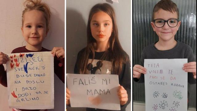 Njihovi roditelji su na prvoj crti obrane: 'Mama, svaki dan se molim da se vratiš kući zdrava'
