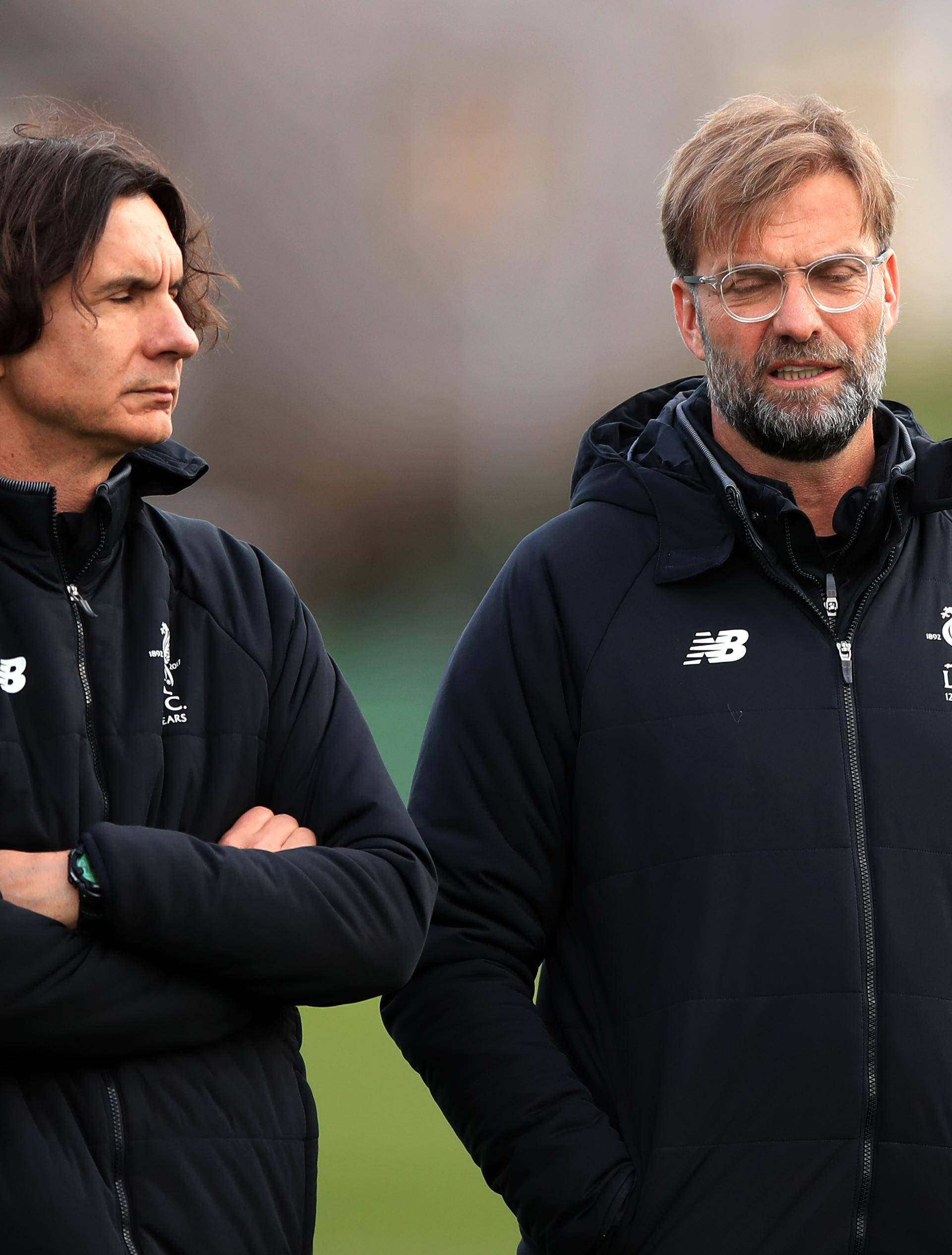 Liverpool Training and Press Conference