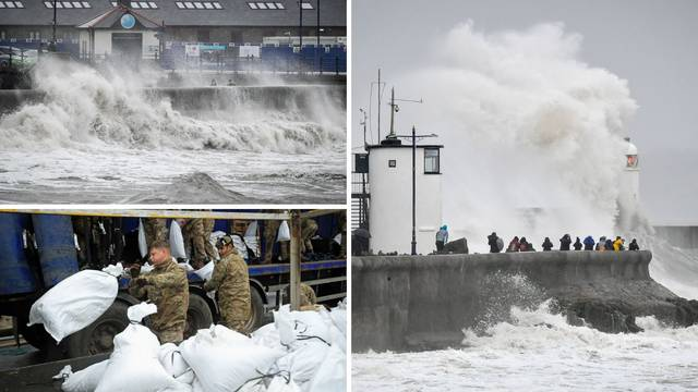 Britanci se spremaju za najjaču ciklonu ikad: Dvoje je poginulo