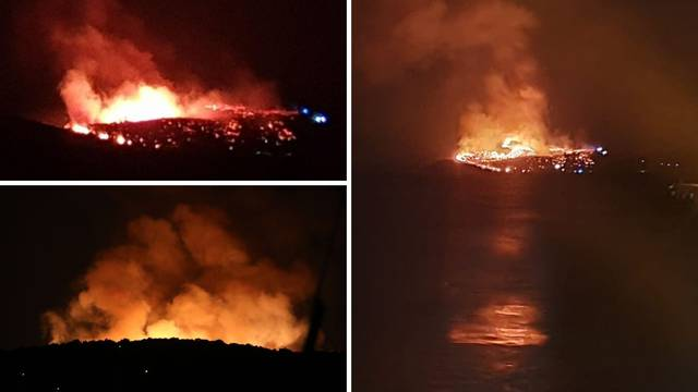 VIDEO Požar na Hvaru je pod kontrolom, dvojicu su priveli