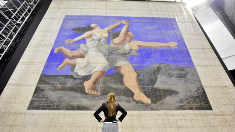 Picassovo platno od 11 metara izloženo u Londonu