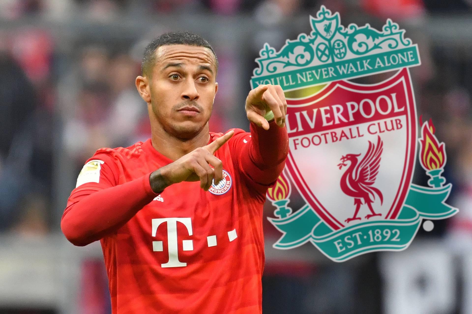 Thiago ALCANTARA (FC Bayern Munich) apparently before moving to Liverpool.