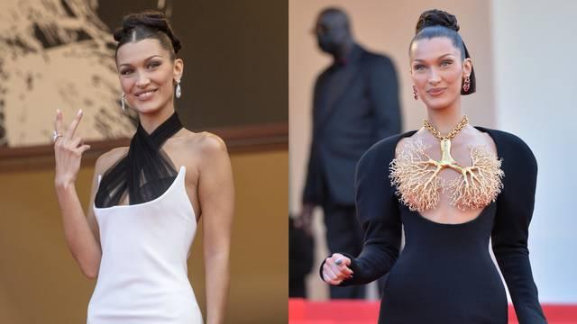 Bella Hadid postala je kraljica crvenog tepiha u Cannesu: Provjerite njezine top stylinge