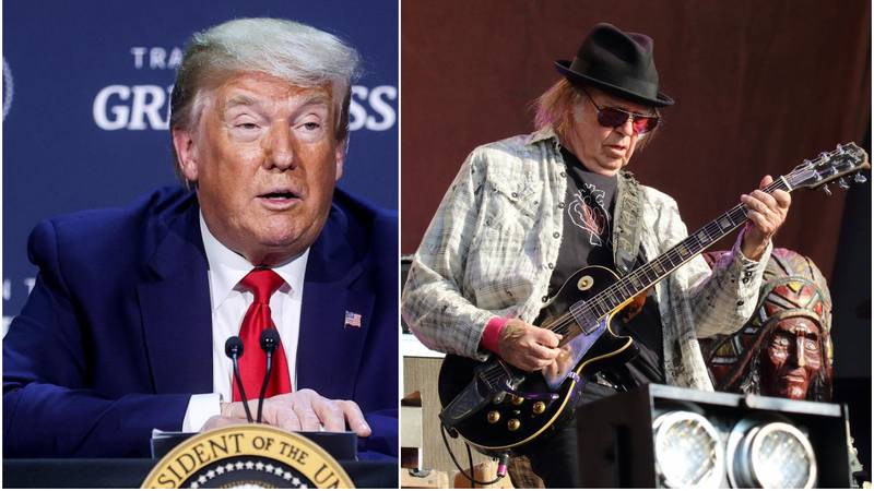 Neil Young tužit će Trumpa ako bude puštao njegove pjesme
