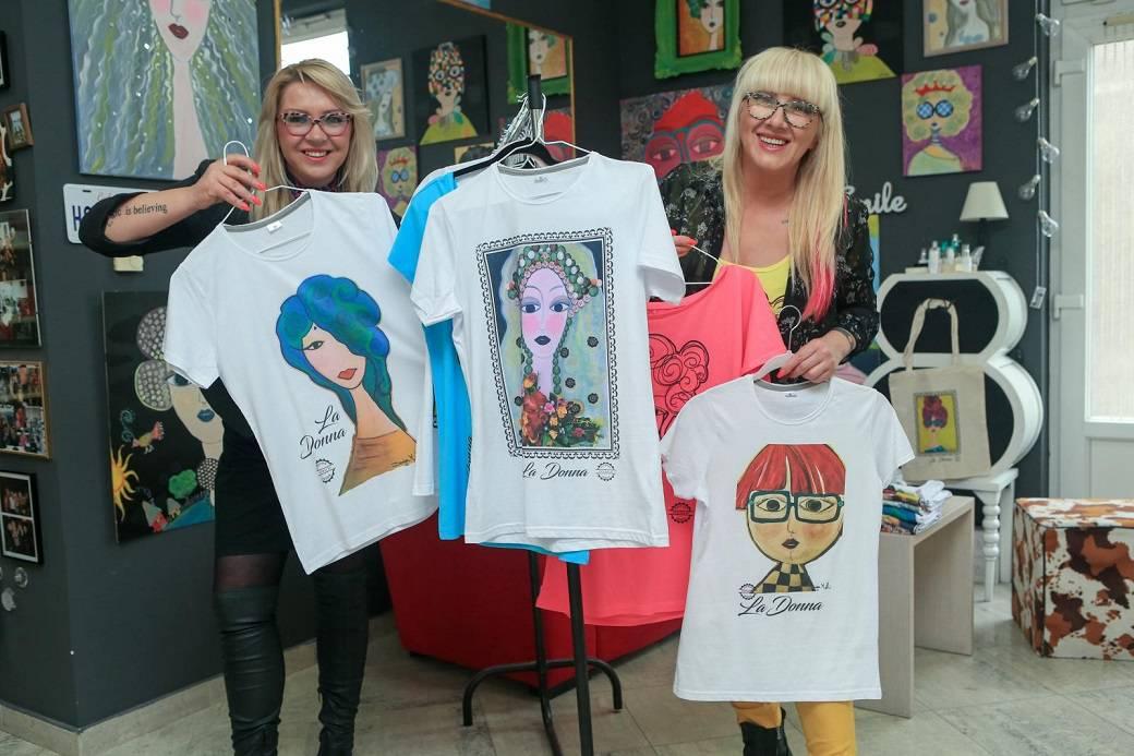 Made in Vukovar: Našu majicu poslale smo i 'spajsici' Mel B