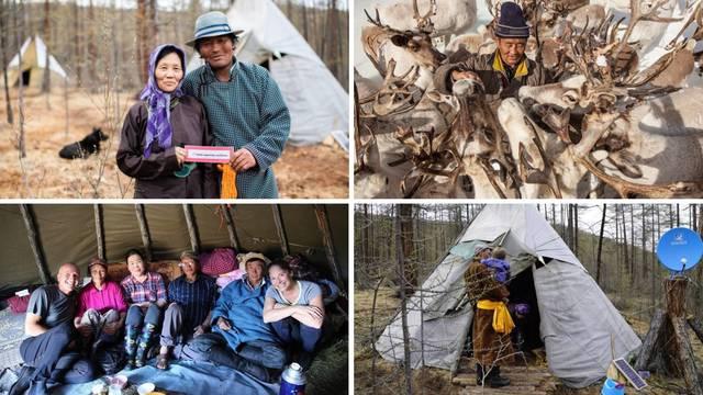 Čuvanje sobova s mongolskim nomadima - ideja za godišnji