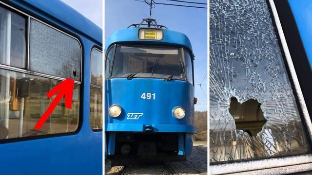 Zagreb: Razbijeno staklo na tramvaju i čovjek krvave glave