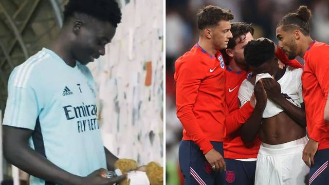 Navijači Arsenala s porukama podrške dočekali tragičara Eura