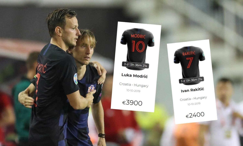 Svi žele dresove 'vatrenih': Za Lukin Mađar nudi 4000 eura!