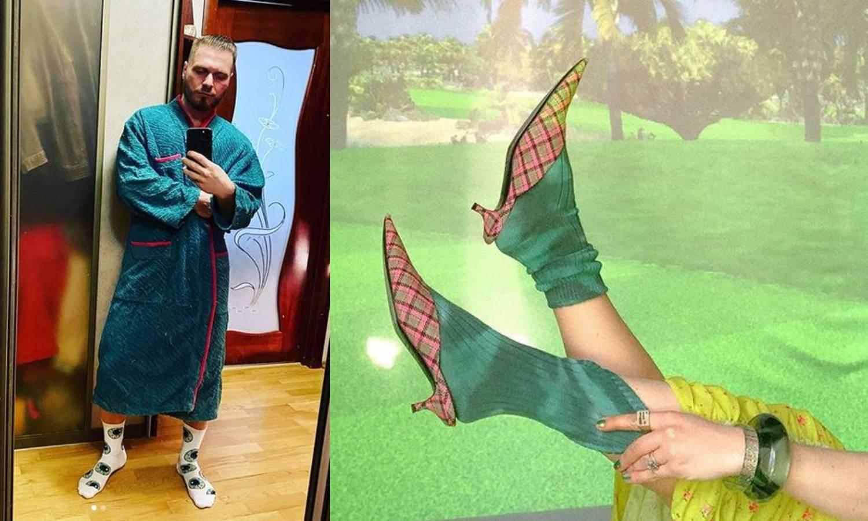 Trendovi u izolaciji: Zabavne čarape s uzorcima - hit komad