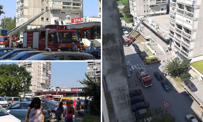 Čistila je? Žena pala sa zgrade u Novom Zagrebu i preživjela...