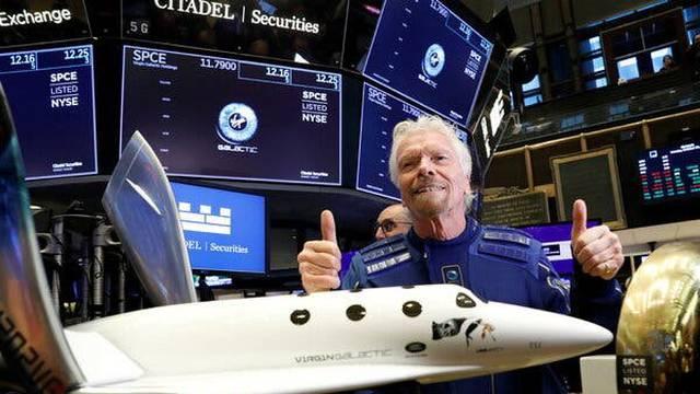 Virgin Galactic je krenuo ka zvijezdama, a od sada možete trgovati cijenom dionica ove tvrtke i iz Hrvatske!
