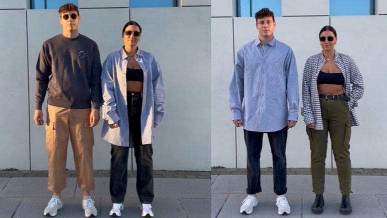 Neobično rješenje: Muž i žena štede tako da nose istu odjeću