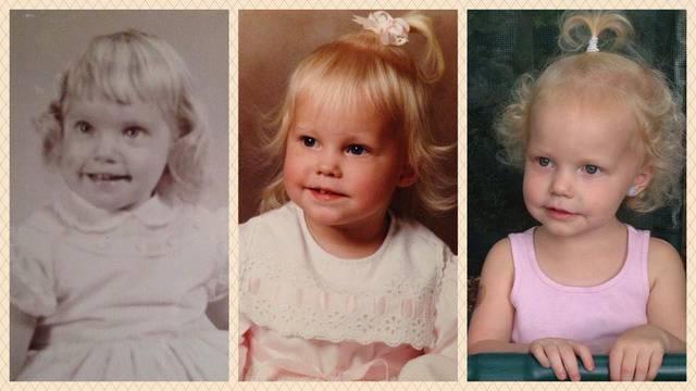 Dokaz da je genetika moćna - baka, mama i unuka su iste