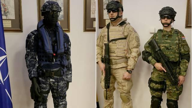 Potpisali ugovor: Pogledajte nove odore hrvatskih vojnika