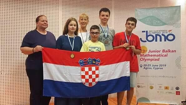 Na matematičkoj olimpijadi: Naši osmaši osvojili tri bronce