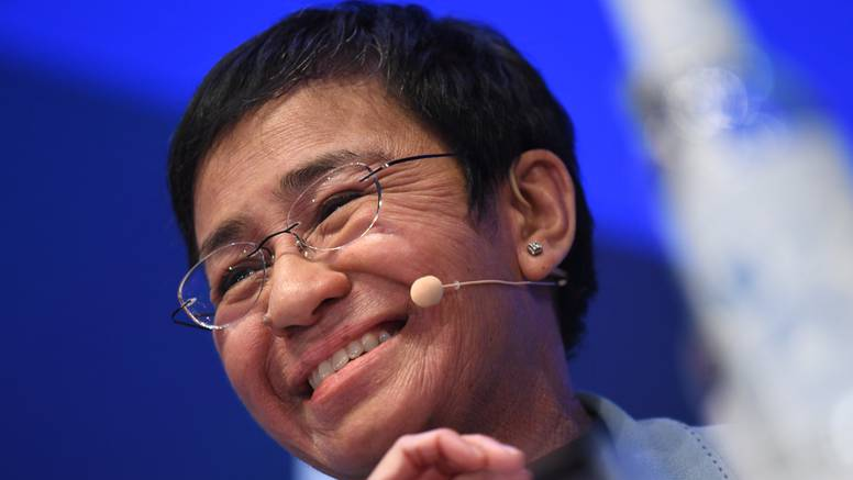 Novinarka Ressa dobila Nobela, a ovako je govorila za 24sata: 'Stalno dobivam poruke mržnje'