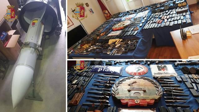 Talijani našli skladište oružja neonacista, zaplijenili i raketu