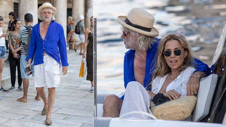 Legendarni glazbenik, Sir Bob Geldof s prijateljem i suprugom uživao u čarima Dubrovnika