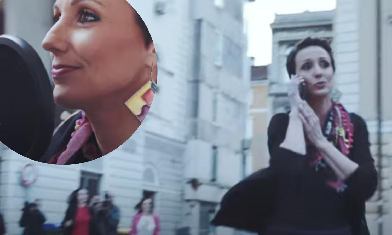 Organizatorica riječkog Hoda za život ima i pjevačku karijeru: U spotu predvidjela budućnost